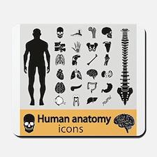 Human Anatomy Mousepad