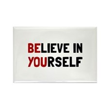 Funny Believe Rectangle Magnet