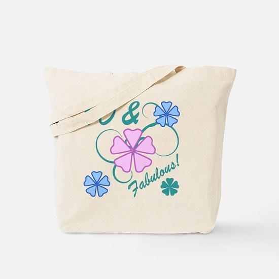Fabulous 90th Birthday Tote Bag