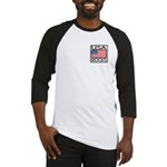 USA Rocks American Flag Baseball Jersey