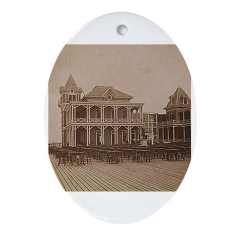 West End Hotel Oval Ornament