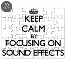 Keep Calm by focusing on Sound Effects Puzzle