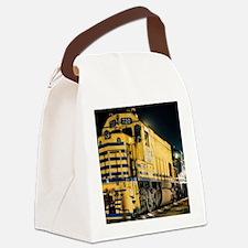 Train Engine Canvas Lunch Bag