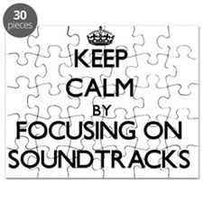 Keep Calm by focusing on Soundtracks Puzzle