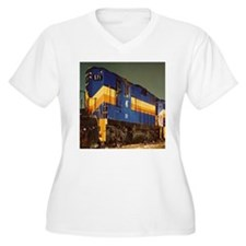 Train Engine Plus Size T-Shirt