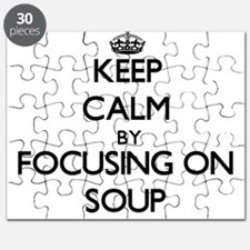 Keep Calm by focusing on Soup Puzzle