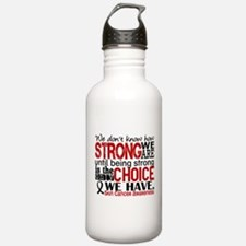 Skin Cancer HowStrongW Water Bottle