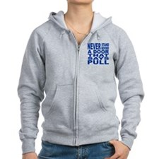 dont stand behind pull Zipped Hoodie
