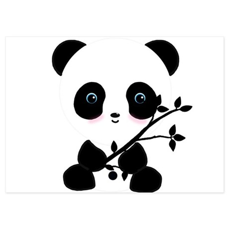 Panda Invitations | Panda Announcements & Invites - CafePress