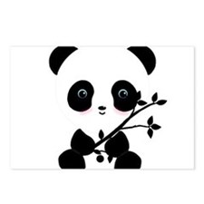 Black and White Panda Bear Postcards (Package of 8