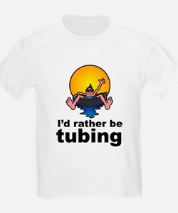 I'd Rather be tubing River Sport T-Shirt