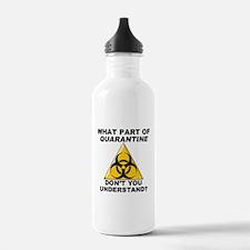 Quarantine Water Bottle