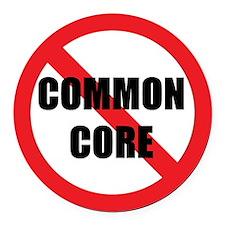 Kill Common Core Round Car Magnet