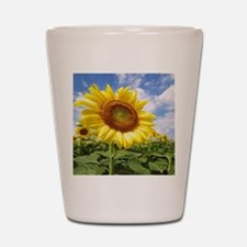 Sunflower Garden Shot Glass