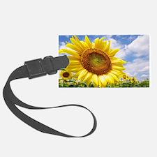 Sunflower Garden Luggage Tag