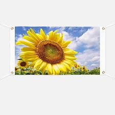 Sunflower Garden Banner