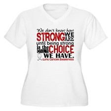 Lung Cancer HowSt T-Shirt