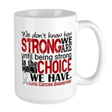 Lung Cancer HowStrongWeAre Mug