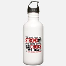 Lung Cancer HowStrongW Water Bottle