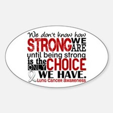 Lung Cancer HowStrongWeAre Decal