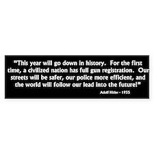 Hitler - Gun Control