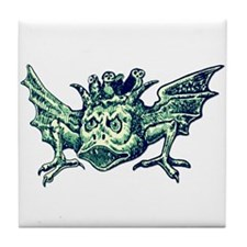 Winged Water Demon Tile Coaster