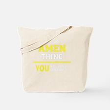 Unique Amen Tote Bag
