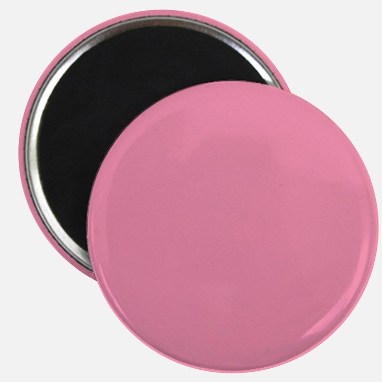 Salmon Pink Solid Color Magnets