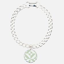 Sage Green Geometric Cub Bracelet