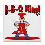 B-B-Q King Tile Coaster