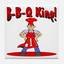 B-B-Q King Tile Coaster
