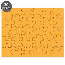 Bright Orange Solid Color Puzzle