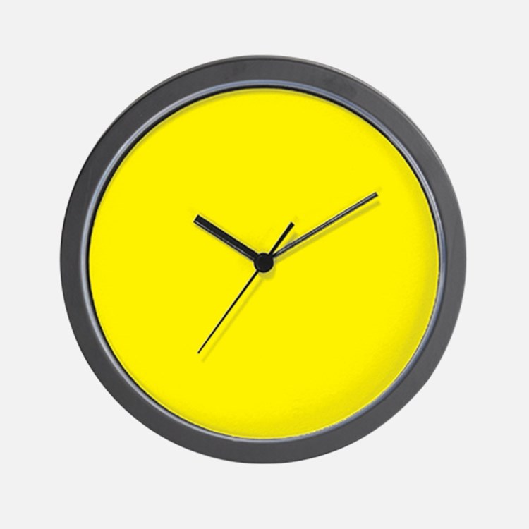 yellow clocks yellow wall clocks large modern kitchen clocks