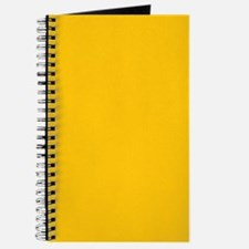 Gold Yellow Solid Color Journal