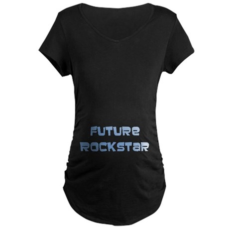 Future Rockstar Maternity Dark T-Shirt