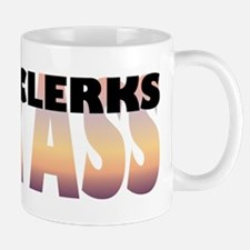 Court Clerks Kick Ass Small Small Mug