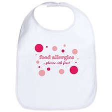 Food Allergies Bib