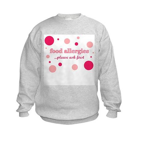 Food Allergies Kids Sweatshirt