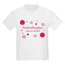 Food Allergies T-Shirt