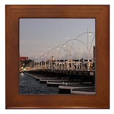 Queen Emma Bridge Framed Tile