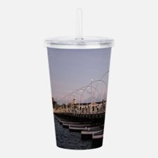 Queen Emma Bridge Acrylic Double-wall Tumbler