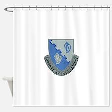 14th Army Military Intelligence Bat Shower Curtain