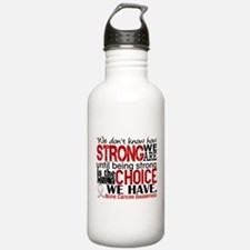 Bone Cancer HowStrongW Water Bottle