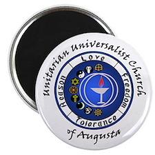 UUCA Circle Chalice Magnet