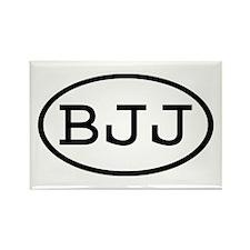BJJ Oval Rectangle Magnet (10 pack)