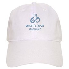 60th birthday excuse Cap