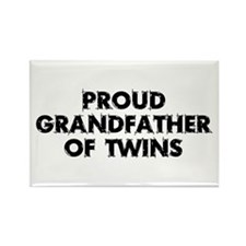 Proud Grandfather Rectangle Magnet