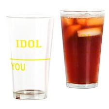 Funny Idol Drinking Glass