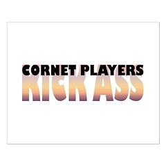 Cornet Players Kick Ass Posters