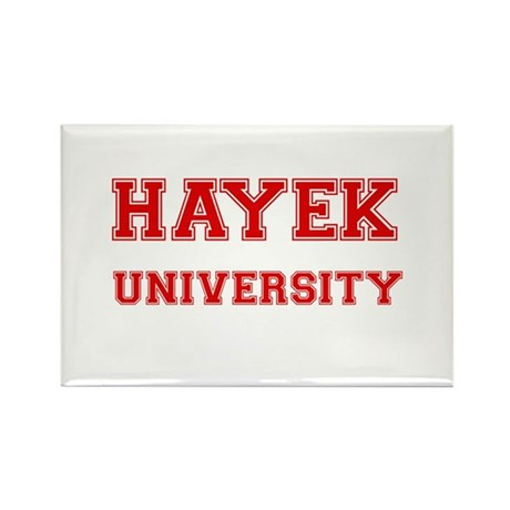 HAYEK UNIVERSITY Rectangle Magnet